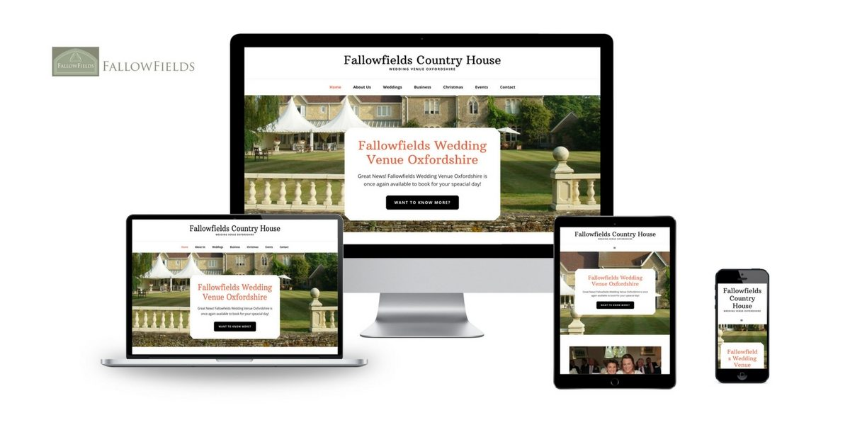Fallowfields Country House Web Design Case Study